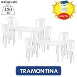 Conjunto De 2 Mesas 8 Cadeiras Plásticas Festas Bar E Brinde