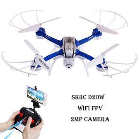 Drone Com Câmera Wifi Em Tempo Real Mais Bateria Extra