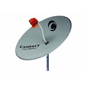 Antena Chapa Com Lnb F Super Digital Century 1.30