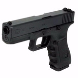 Pistola Airsoft Glock G17 Negra We 6mm Green Gas Blowback