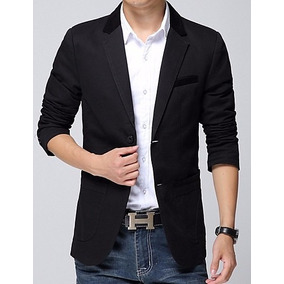 Blazer Hombre Slim Fit Elegante Moda Asiatica Juvenil C34