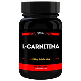 L-carnitina 120 Tabletes Nitech Carnitine Emagrecedor