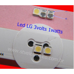 Led Tv Lg 32 39 47 50 55 -la/ln - 3v 1w Frete 9,00