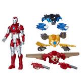 Figura Iron Man Equipo De Combate, Juguete, Avengers, Regalo