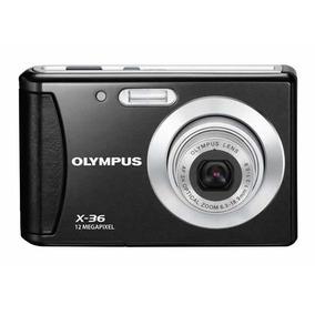 Camera Fotografica Digital Olympus T-100 Preta 12 Mp Nova