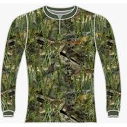 Camiseta Pesca Camuflada Dry Fit Caçadores Brs