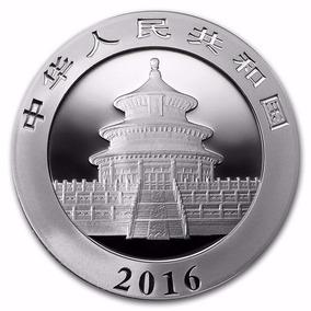 10 Yuan Moneda Onza De Plata Pura China 2016 Nuevísimo !!!