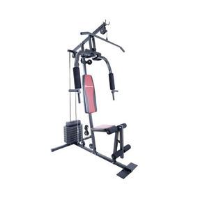 Estação De Ginástica Houston Home Gym Eg15a / 15 Exercícios