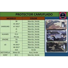 Protectores Camuflados Mas Mica De Vidrio