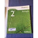 Biología Bicentenario Santillana 2 Medio