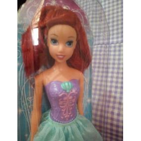 Cf18 Barbie Ariel Princesas Bailarinas Disney Mattel