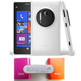 Nokia Lumia 1020 4g Lte 41 Mp Blanco + Portatil 9000 Mah