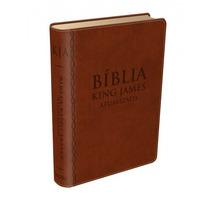 Biblia De Estudo Bkj Kings James Ultima Edicao Capa Pu Luxo
