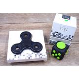 Fidget Cube + Fidget Spinner Originales Opciones Colores