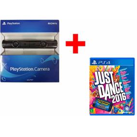 Nova Camera Ps4 Eye Vr Playstation 4 + Just Dance 2016