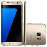 Celular Smartphone Samsung Galaxy S7 Edge G935f Dourado 4g