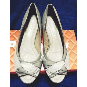 Zapato Cuero Picadelly Taco Chino # 34 Casi Nuevo
