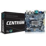 Placa Mae Com Processador Intel Dual Core 1.6ghz Hdmi 5º Ger