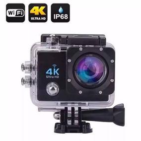 Action Camera 4k Com Wi-fi Filmadora Full Hd 16mp + Boia B