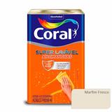 Tinta Acrílica Super Lavável Antimanchas Coral - Marfim Fres