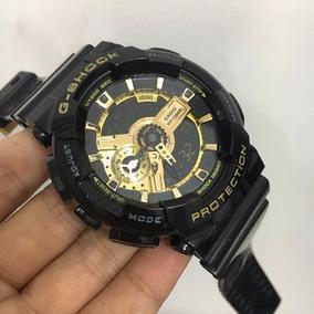 Relógio N206990 Casio Preto Gshock Protection Digital