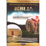 Dvd Segredos Da Bíblia - Sodoma E Gomorra - Arca De Noé Novo