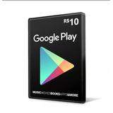 Recarga Google Play $10 Reais Buy Cartão Crédito Play Store