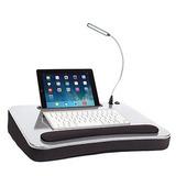 Escritorio Portátil Con Lámpara Led Para Laptop O Tablet