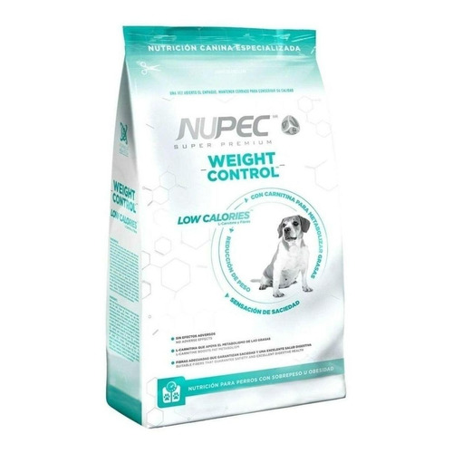 Alimento Nupec Nutrición Especializada Weight Control para perro adulto todos los tamaños sabor mix en bolsa de 2kg