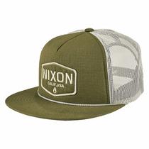 Gorra Nixon C2574-333-00 Sierra Trucker Olive Envio Gratis