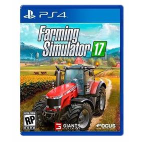Jogo Farming Simulator 17 Ps4 Pronta Entrega + Brinde