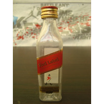 Mini Botella Whisky Red Label Johnnie Walker Vacia Changoosx