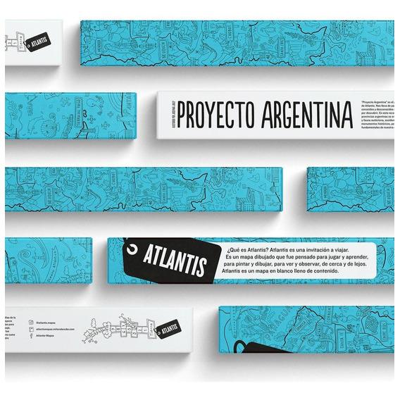 Atlantis Mapa Gigante - Proyecto  Argentina