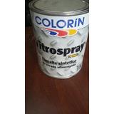 Vitrospray Negro Brillante Esmalte S/rapido X4lts. +pincel10