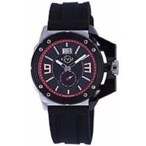 Reloj Gv2 Acero Inox Extended Hombres Gevril Mod. 9400