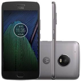 Smartphone Motorola Moto G5 Plus Platinum 5,2 Câmera 12mp M