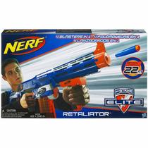 Lançador Nerf N Strike Retaliator Original Hasbro A0713