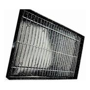 Asadera Enlozada 40x60x4,5 Con Rejilla Para Todos Los Hornos