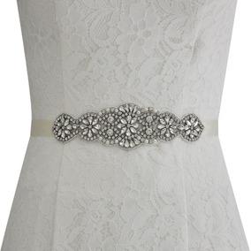 Faixa Cinto Para Vestido De Noiva Branco Ou Off White