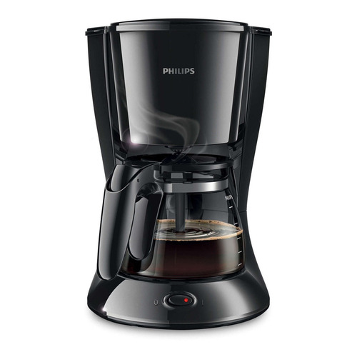 Cafetera Philips Daily Collection HD7447 negra 220V