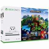 Xbox One S Consola De 500gb + Juego Minecraft