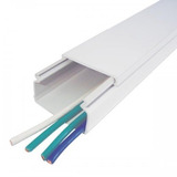 Construcción Canaleta 40 Mm X 25 Mm Bt Adhesivo Plástica X2