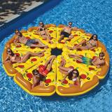 Inflable Piscina Pizza Gigante Flotador Playa Floaties ®