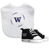 Bebé Fanático Universidad Of Washington Logo Equipo Deport