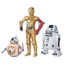 Star Wars Robos Bb-8 C-3po Ro-4lo The Force Awakens Hasbro