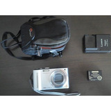 Camara Panasonic Lumix Dmc-zs7 Con Todos Sus Accesorios