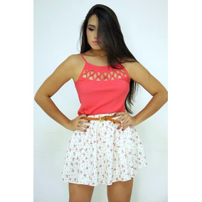 Atacado 6pçs Regata Decote Trançado Moda Feminina Blusa
