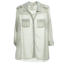 Camisao C/bolso Martingale