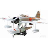 Tamiya Avion Nakajima A6m2 Fighter Rufe 1/48 Armar Pintar