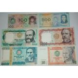 Billetes 100 500 1000 5 10 50 Soles Oro